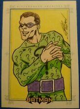 Batman Archives SketchaFEX Sketch Card drawn by Tamura
