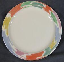 Block Palette Dinner Plates Spal Pastel Color Rim Jack Prince Portugal