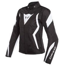 New Dainese Edge Textile Jacket Women's EU 46 Black/White #273521278A46