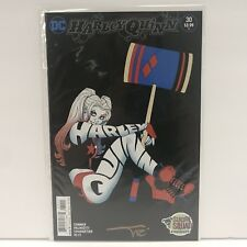 HARLEY QUINN #30 AMANDA CONNER COVER ART SIGNED BY COLORIST ALEX SINCLAIR NM B&B