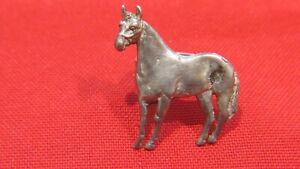 Vintage Sterling Silver Horse Scarf Slide