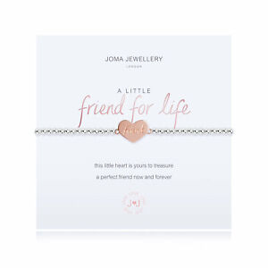 Joma Jewellery A Little Friend For Life Silver Plated Beaded Bracelet + Gift Bag