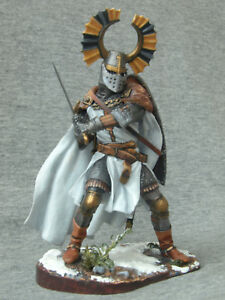90 mm! Elite tin soldiers St. Petersburg: The master of the Teutonic