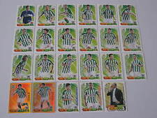 REAL BETIS COMPLETO ADRENALYN XL 2011-12 (23 CARDS)