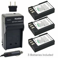 Kastar EN-EL9 Battery & Charger for Nikon D40 D40x D60 D3000 D5000