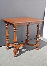 Luxury Designer Side Console Table by Quadrus Studio with Pull Out Drawer
