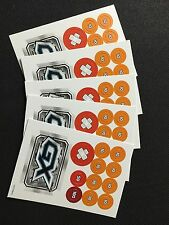 POKEMON TCG: 5 X GX Damage Counter and Condition Marker sheets - NEW