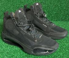 Air Jordan 34 XXXIV Black Cat AR3240-003  Mens Basketball Shoes Size 10