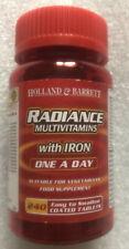 Holland & Barrett Radiance Multivitaminas Con Hierro 240 comprimidos recubiertos