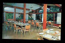 1950's Chrome Postcard Interior Campbell's Cabins  Crane Lake MN B2712