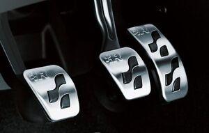 Originale VW R Line R32 Golf Polo Beetle Acciaio Calotte Pedale JNV711001 -nuovo