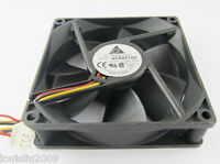 2pcs DELTA AFB0912H 9025 92x92x25mm 12V 0.3A 51CFM 3pin wire DC Cooling Fan
