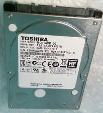 "1TB TOSHIBA MQ01ABD100 9.5mm SATA 2.5"" hard disc drive"