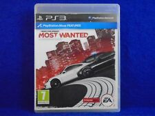 *ps3 NEED FOR SPEED Most Wanted (NI) Game Racing Playstation PAL