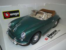 "Bburago  Porsche  356B  Cabriolet  ""1961"" (grün-met.) 1:18 OVP ! (2)"