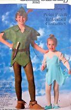 Vintage Disney 7784 Kids Peter Pan Tinkerbell Costume Pattern sz 6 & 8  UNCUT