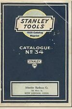 Stanley Tools 1929 Catalog Reprint by Ross Bolton (2008, Paperback)