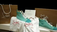 CHRISTIAN LOUBOUTIN MINT GREEN SPIKE TOE, WORN 2 HOURS 100%GENUINE BARGAIN