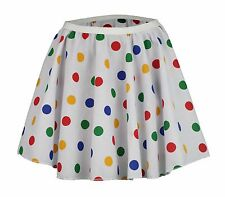 "Childs 15"" Children In Need fancy dress costume Full Circle Skater Skirt"