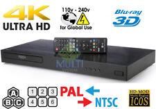 LG UP870 MULTI ZONE ALL REGION FREE 4K ULTRA HD UHD HDR 3D BLU-RAY DVD PLAYER