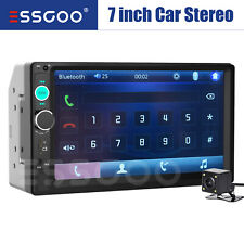 7 2 Din Car Stereo Fm Radio Player Bluetooth Usb Aux In Tf Touch Screen Camera Fits Mitsubishi Diamante