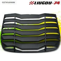 For 2009-2019 NISSAN 370Z 3.7L Matte Black ABS Rear Windshiled Louvers Cover
