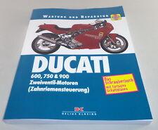 Reparaturanleitung DUCATI 600, 750 & 900, Zweiventil-Motoren