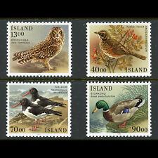 ICELAND 1987 Birds. SG 697-700. Mint Never Hinged. (WF648)