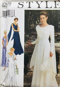 ELEGANT BRIDAL GOWN / EVENING GOWN Sewing Pattern SIZE 8-18 (ST2805) UNCUT