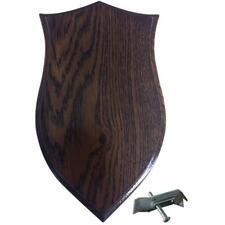 BushWear Solid Oak Roe Skull Shield - Small