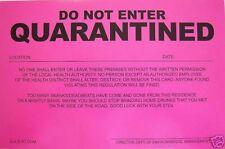 Humiliating Prank Sign - DO NOT ENTER - QUARANTINED