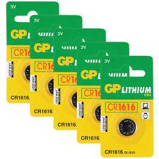 Grey Pneumatic 3 V CR1616 Single Use Batteries