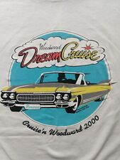 Woodward Dream Cruise Vintage T Shirt 2000 Sixe XL