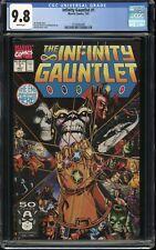 The Infinity Gauntlet #1 CGC 9.8, 1991, HUGE MARVEL COMIC KEY STORY, MCU, Movie!