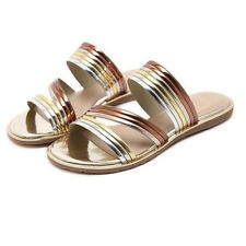 Fashion Low Heels Slippers For Women - Champagne (HPG040458)