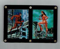 Marvel Masterpieces 1992 Joe Jusko Signed Daredevil and Elektra