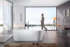 Bathtub Freestanding - Acrylic Bathtub - Soaking Tub - Modern Tub - Turin -  68""