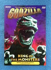 Dvd Godzilla: King Of The Monsters Science Fiction Loaded With Extra Features