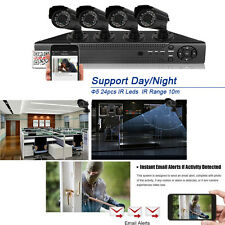 8CH 960H HDMI DVR 800TVL Outdoor CCTV Home Security Camera System Night Vision