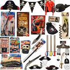 Kids Pirate Captain Accesso GunsSwords,Hats,Mask,Eye Patch Adult Set Fancy Dress