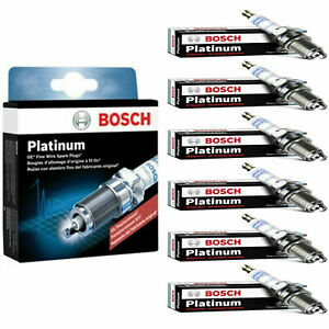 6 Pcs OE Platinum Spark Plug 6709 For 2004-2005 Mercury Monterey Premier