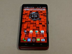 Motorola Droid Maxx XT1080 Verizon Wireless 16GB Red Smartphone/Cell Phone