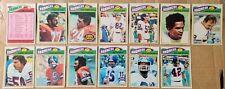 1977 Topps Denver Broncos team set- Alzado/Armstrong/Morton