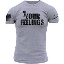 Grunt Style Fck Your Feelings T-Shirt - Heather Gray