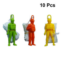 10pcs Parachute Toy Lightweight Solider Practical Parachute Toy for Kids Toddler