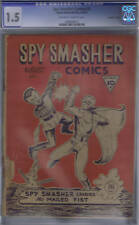 "Spy Smasher Comics #2 Double ""A"" Pub 1942 CANADIAN EDITION"