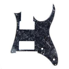 Custom Guitar Pick Guard for Ibanez RG 350 DX , 2-Pickup, 4ply Black pearloid