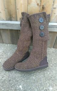 Ugg knitted boots size 7