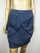 SABA SKIRT BLUE WRAP DRESS Y MINI SKIRT ~ 8