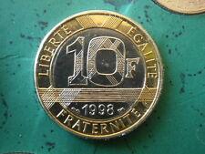 10 Francs GENIE 1998 SCELLE coffret Monnaie Paris BU FLEUR DE COIN FDC NEUF